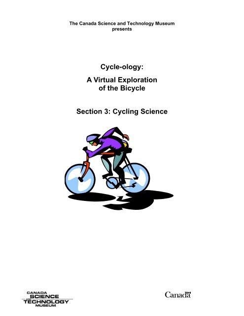 Cycling Science - Musée des sciences et de la technologie du Canada