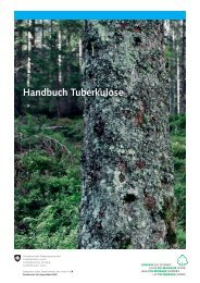 Handbuch Tuberkulose (Lungenliga Schweiz ... - Kanton St.Gallen