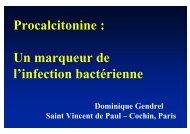 Procalcitonine : Un marqueur de l'infection bactérienne