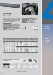 Multitite FCD grey: Light and flexible. CONDUIT TYPE FCD ... - Anamet