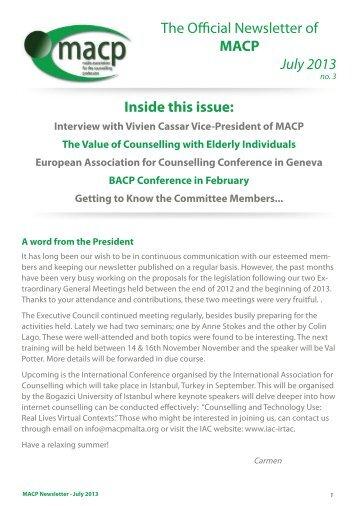 MACP Newsletter 2.pdf - Shireburn Software Ltd
