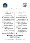 Conference Brochure - BEST WESTERN Hotel Smokies Park ... - Page 2