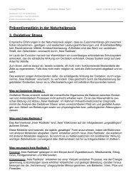 Präventivmedizin in der Naturheilpraxis 3. Oxidativer Stress - Vitatest