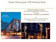 Ballsaal Hyatt Regency in Mainz - VITEC Distribution GmbH