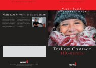 Brochure TOPLINE.indd - H. Bosma installatietechniek BV Siddeburen
