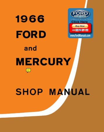 DEMO - 1966 Ford and Mercury Shop Manual - FordManuals.com
