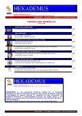 Sumario del Numero 01 - Hekademus - Page 2