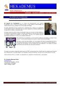 Sumario del Numero 01 - Hekademus - Page 5