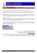 Sumario del Numero 01 - Hekademus - Page 7