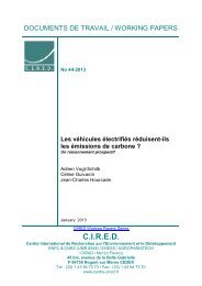 DT/WP No 2013-44 - Centre International de Recherche sur l ...