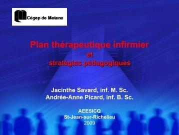 acinthe Savard et Andrée-Anne Picard, Cégep de Matane ... - aeesicq