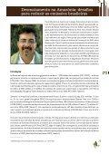 DESMATAMENTO NA AMAZÔNIA: - Fundação Brasileira para o ... - Page 3