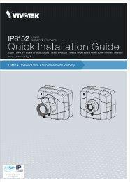 Vivotek IP8152-f4 Installation Guide - Use-IP