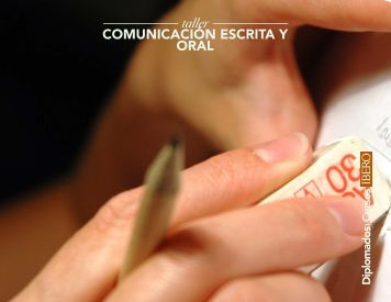 Taller de Comunicación Escrita y Oral - Universidad Iberoamericana ...