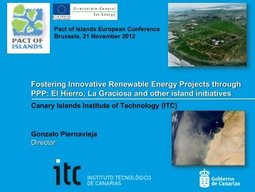 Enabling the Renewable Energy Revolution: - Pact of Islands