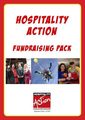 Fundraising Pack web 2011 - Hospitality Action
