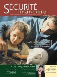 décembre 2000 - Chambre de la sécurité financière