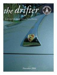 Drifter - Sacramento Valley Region - Porsche Club of America