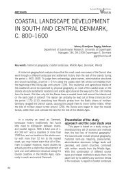 CoAstAl lAnDsCApe DevelopMent In soutH AnD CentrAl DenMArk ...