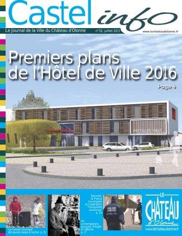 Le journal de la ville - Le Château d'Olonne