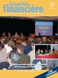 décembre 2004-janvier 2005 - Vol. 29 - No 6 - Chambre de la ...