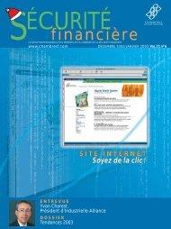 DÉCEMBRE 2002/JANVIER 2003 Vol. 27, no 6 - Chambre de la ...