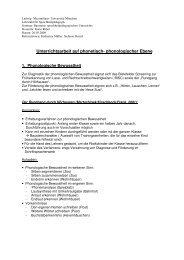 Unterrichtsarbeit auf phonetisch- phonologischer ... - Dr. Karin Reber