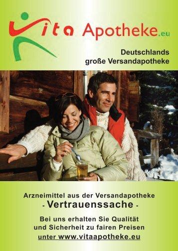 Kopie von Vita Katalog - Vitaapotheke