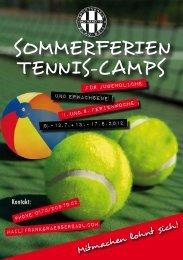 SOMMERFERIEN TENNIS-CAMPS