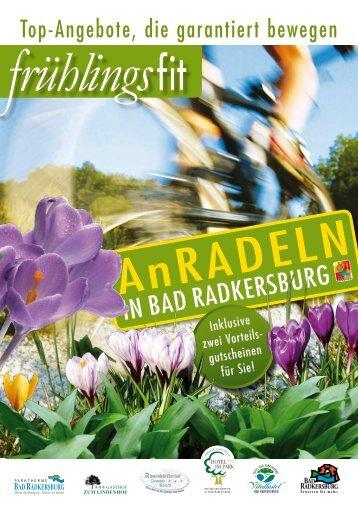 ANRADELN Sa, 25. April 09 I Start: 13 Uhr - Vitalhotel Bad ...