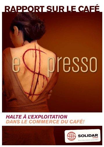 RaPPORT suR le café - Solidar Suisse