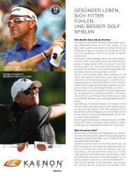 Gesünder leben, sich fitter fühlen, und besser Golf - Vita Health Care ...