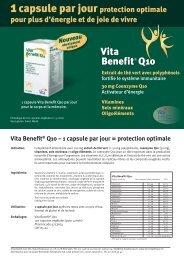 Vita Benefit Q10 - Vita Health Care AG