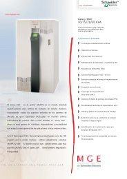Galaxy 3000 - Schneider Electric