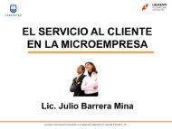 EL SERVICIO AL CLIENTE - My Laureate - Laureate Education