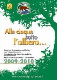 Catalogo completo - Parco Nazionale d'Abruzzo Lazio e Molise