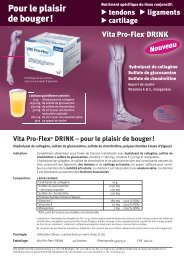 Vita Pro-Flex Drink - Vita Health Care AG