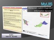 Aplikasi MyLIIS - Malaysia Geoportal