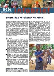 Hutan dan Kesehatan Masyarakat - Biology East Borneo