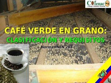 Norma Técnica del Café Verde