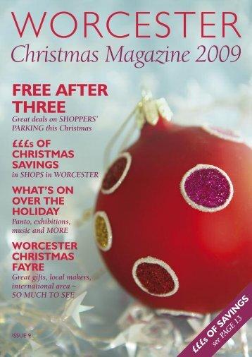 Christmas Magazine 2009 - Worcester