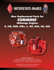 CummiNs® - Interstate McBee