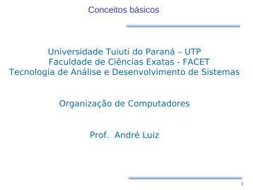 Conceitos - Gerds - Universidade Tuiuti do Paraná