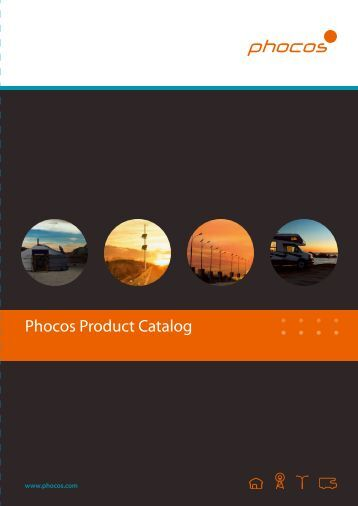Phocos Product Catalog 20137.73 MBPDF - Phocos.com