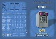 Lavacentrífugas de alta velocidad High speed washer extractors