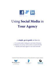 Using Social Media in Your Agency Guide - Western National ...