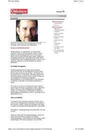 Seite 1 von 2 Woche Online 03.10.2006 http://www.obersteirer.at/ow ...