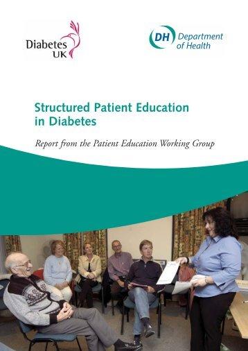Structured Patient Education in Diabetes - Dafne - UK.COM
