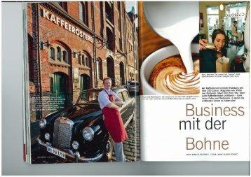 Am Kaffeehandel verdient Hamburg seit