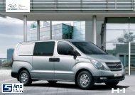 Hyundai H-1 brosjyre